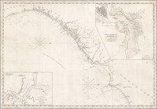 [Coastal Chart of North Carolina, South Carolina, Georgia, and Florida, with insets of the Harbor of Charleston and entrance to the Saint Johns River ] By E & GW Blunt