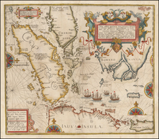 Southeast Asia and Other Islands Map By Theodor De Bry