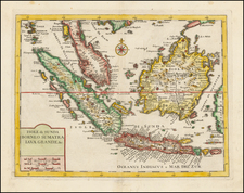 Southeast Asia Map By Isaak Tirion
