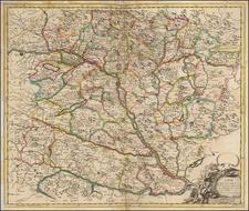 Austria, Hungary and Balkans Map By John Senex