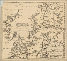 Baltic Countries and Scandinavia Map By Thomas Jefferys