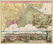 Turkey and Turkey & Asia Minor Map By Johann Baptist Homann