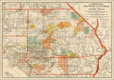 California Map By Fred Thomas Perris
