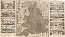 British Isles Map By George Thompson