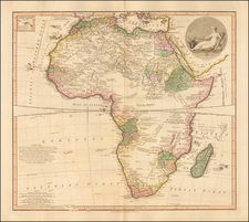 Africa and Africa Map By William Faden