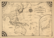 China, Japan, Korea, Southeast Asia, Australia & Oceania, Pacific, Australia and Oceania Map By Ernest Dudley Chase