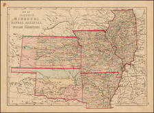 Midwest and Plains Map By J. David Williams