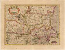 Romania and Balkans Map By  Gerard Mercator