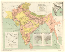 India Map By United States Treasury Department