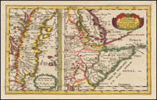 East Africa Map By Nicolas Sanson