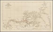 Polar Maps, Alaska and Canada Map By John Arrowsmith