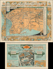 Los Angeles Map By Mary Hall Atwood