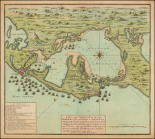 Central America and Colombia Map By Henry Overton