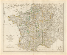 France Map By Robert Sayer