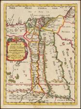 Egypt Map By Nicolas Sanson