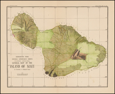 Hawaii and Hawaii Map By U.S. Geological Survey