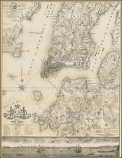 Map By Valentine's Manual / Bernard Ratzer
