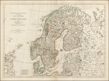 Scandinavia Map By Robert Sayer