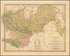 Italy Map By Robert Wilkinson