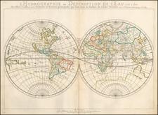 World Map By Nicolas Sanson