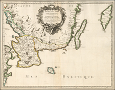 Scandinavia Map By Nicolas Sanson