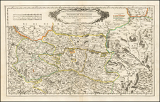 Austria Map By Nicolas Sanson