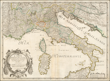 Italy Map By Nicolas Sanson