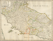 Italy Map By Nicolas Sanson