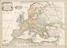Map By Nicolas de Fer / Nicolas Sanson
