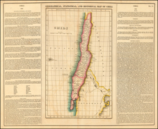 South America and Chile Map By Henry Charles Carey  &  Isaac Lea