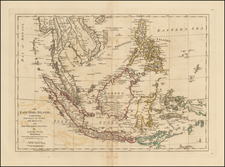 Southeast Asia, Philippines, Indonesia and Malaysia Map By Samuel Dunn