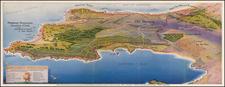 California Map By W.H. Bull