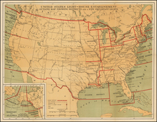 United States Map By Andrew B. Graham