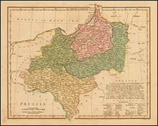 Germany, Poland and Balkans Map By Robert Wilkinson