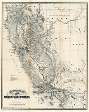 California Map By Charles Goddard / Britton & Rey