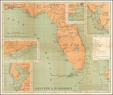 Florida Map By Andrew B. Graham