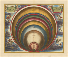 Celestial Maps Map By Andreas Cellarius