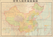 China Map By Anonymous