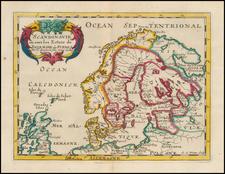 Scandinavia Map By Nicolas Sanson