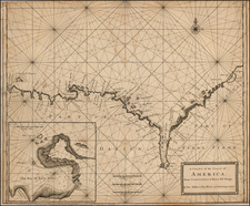 Central America and South America Map By Charles Price  &  Jeremiah Seller
