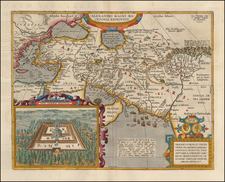 Greece, Turkey, Mediterranean, Central Asia & Caucasus, Middle East and Turkey & Asia Minor Map By Abraham Ortelius