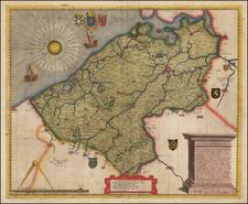 Belgium Map By Domenico Zenoi