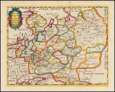 Russia Map By Nicolas Sanson