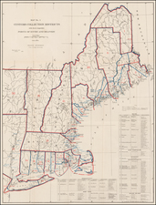 New England Map By United States Treasury Department