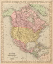 North America Map By Charles Desilver