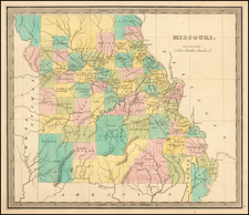 Midwest, Plains and Missouri Map By Jeremiah Greenleaf