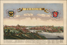 Czech Republic & Slovakia Map By Jean Sauve