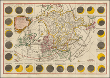 World, World, Atlantic Ocean, Europe, Europe and Celestial Maps Map By Thomas Jefferys