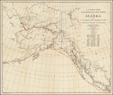 Alaska Map By United States GPO