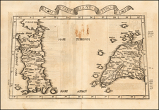 Southern Italy and European Islands Map By Lorenz Fries